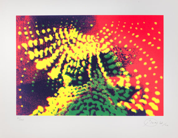 Piene, Otto - Silkscreen in colors