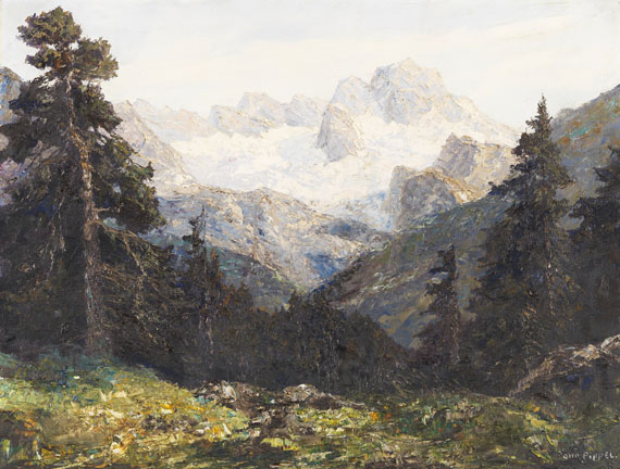 Pippel, Otto - Oil on canvas