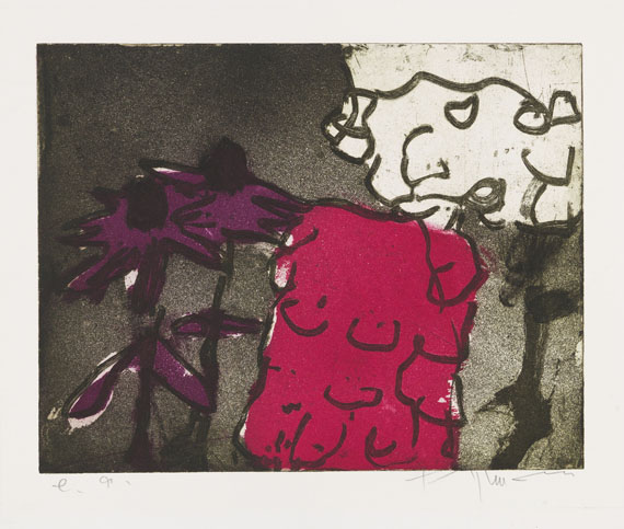 Fußmann, Klaus - Etching and aquatint in colors