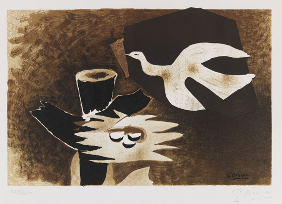 Braque, Georges - Lithograph in colors