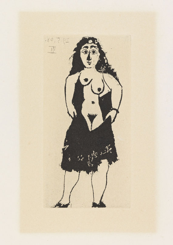 Picasso, Pablo - Etching and aquatint