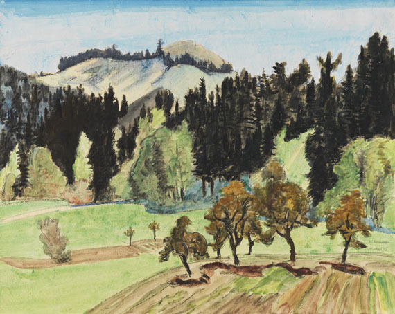 Heckel, Erich - Watercolor