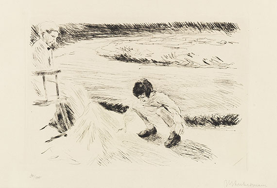 Liebermann, Max - Etching