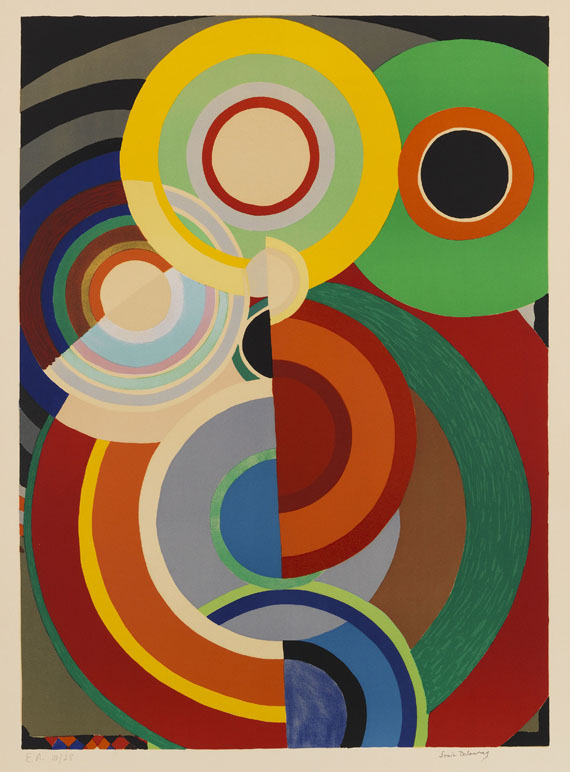 Delaunay-Terk, Sonia - Lithograph in colors