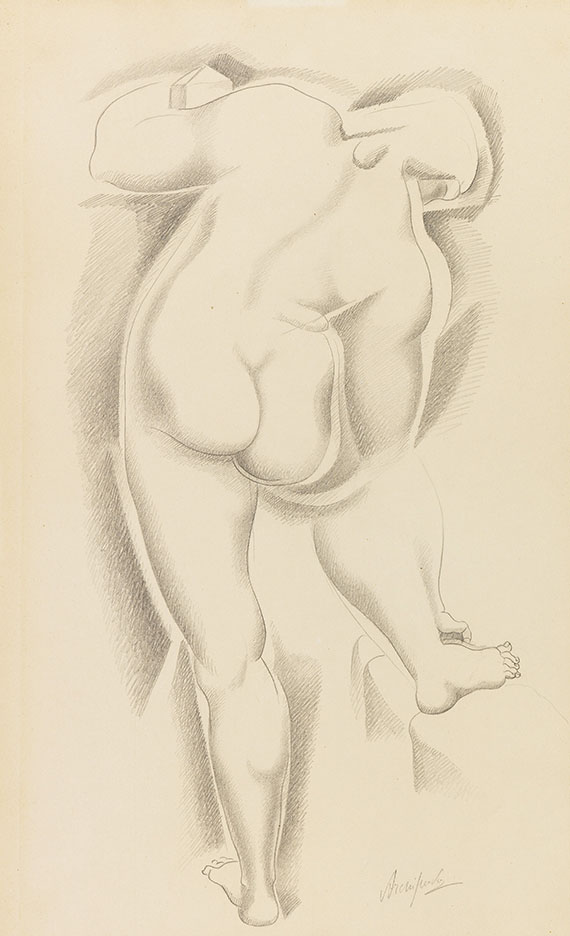 Archipenko, Alexander - Pencil drawing