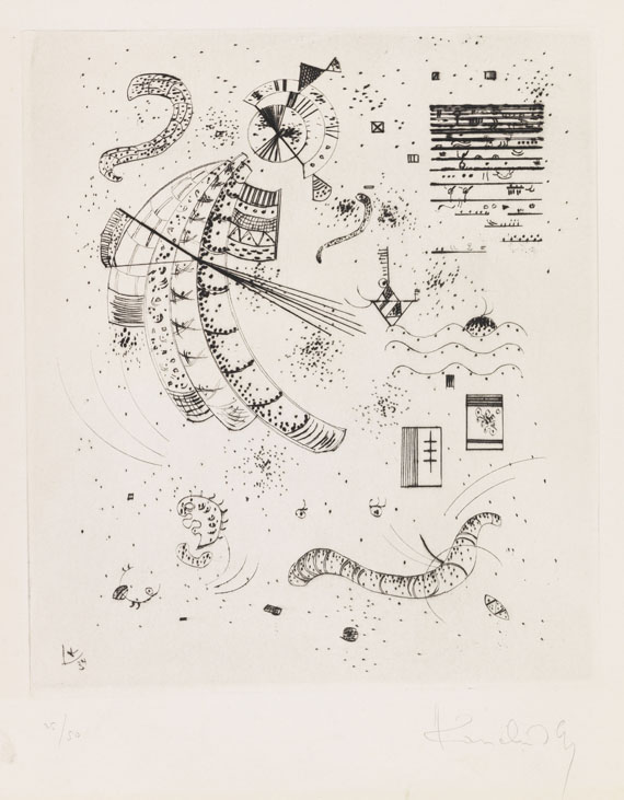 Kandinsky, Wassily - Drypoint