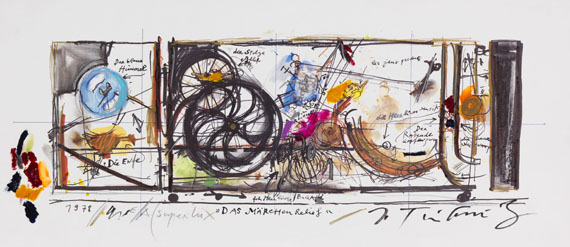 Tinguely, Jean - Mixed media