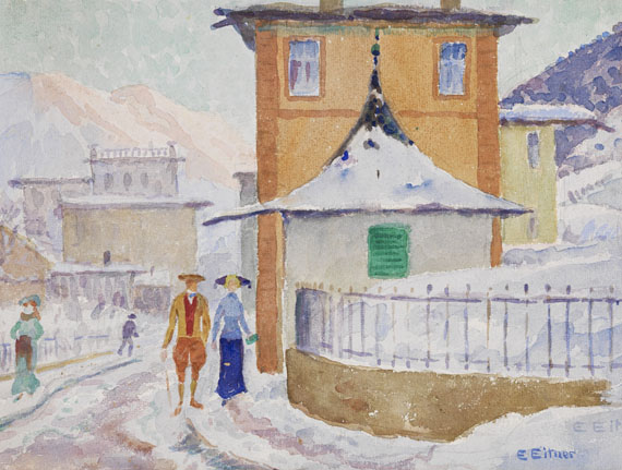 Ernst Eitner - Watercolor