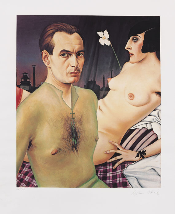 Christian Schad - Silkscreen in colors